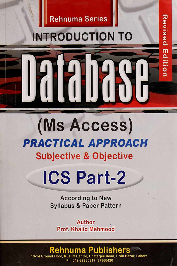 Introduction To Database ICS (Part 2)