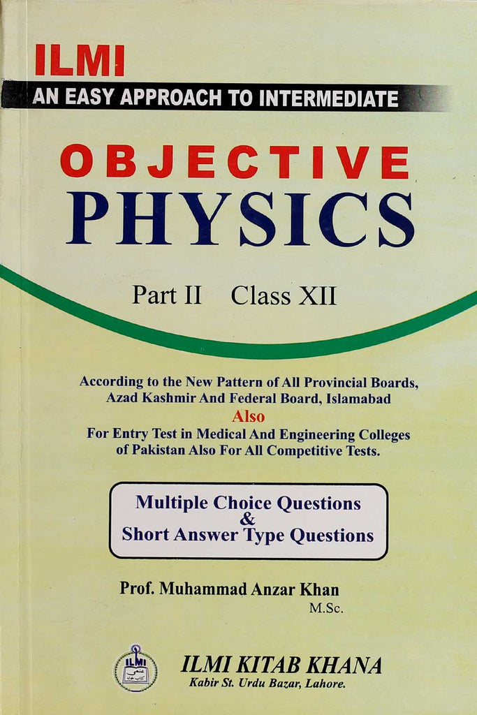 Objective Physics Intermediate (Part 2)