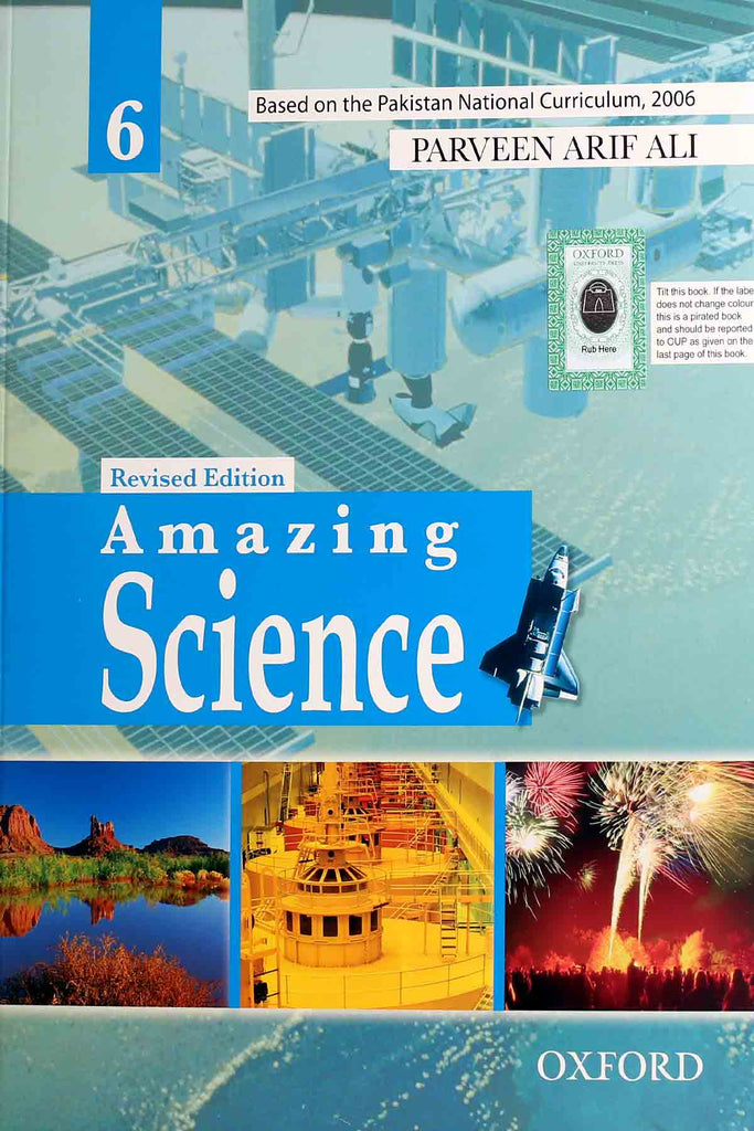 Oxford Amazing Science 6