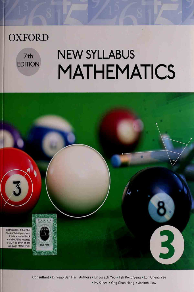 Oxford Mathematics Book 3