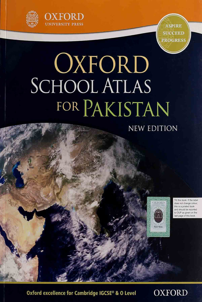 Oxford School Atlas For Pakistan