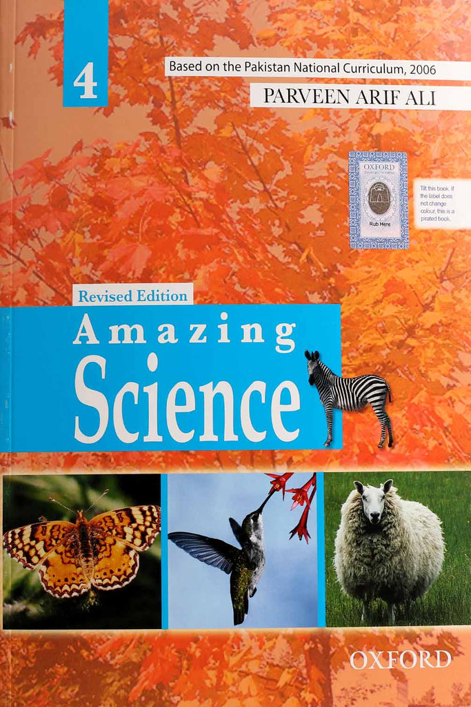 Oxford Amazing Science 4