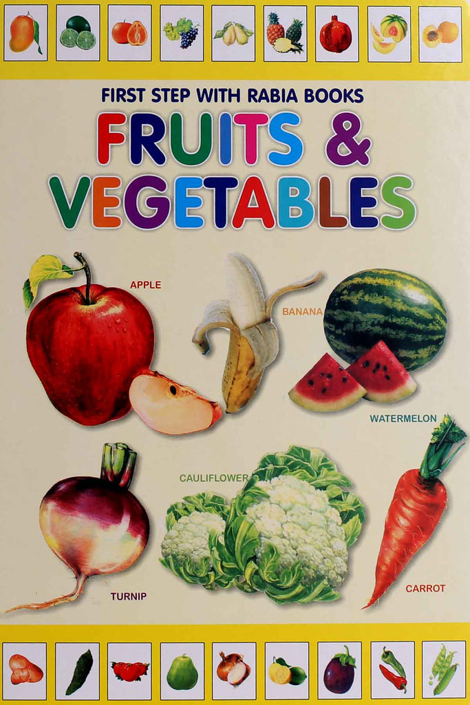 Rabia Fruits & Vegetables (Reading Book)