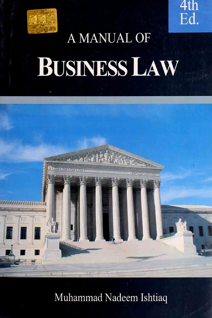 A Manual Of Business Law (Key Book) For B.Com & BBA 4th Edition
