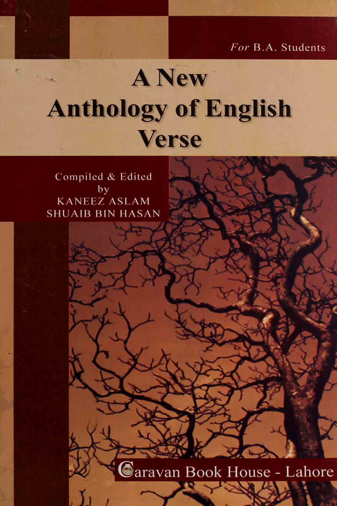A-New-Anthology-Of-English-Verse B.a Text Book