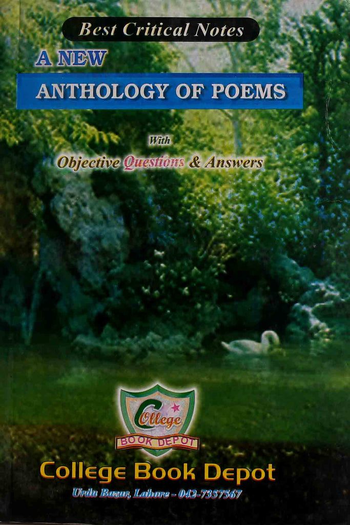 A New Anthology Of poems B.a (Key book)