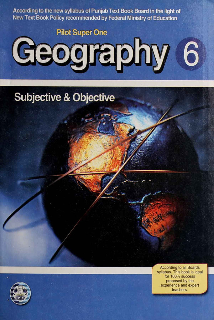 Aaina Geography Class 6 English Medium (Key book)