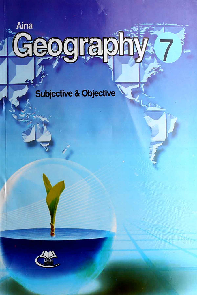 Aaina Geography Class 7 English Medium (Key book)