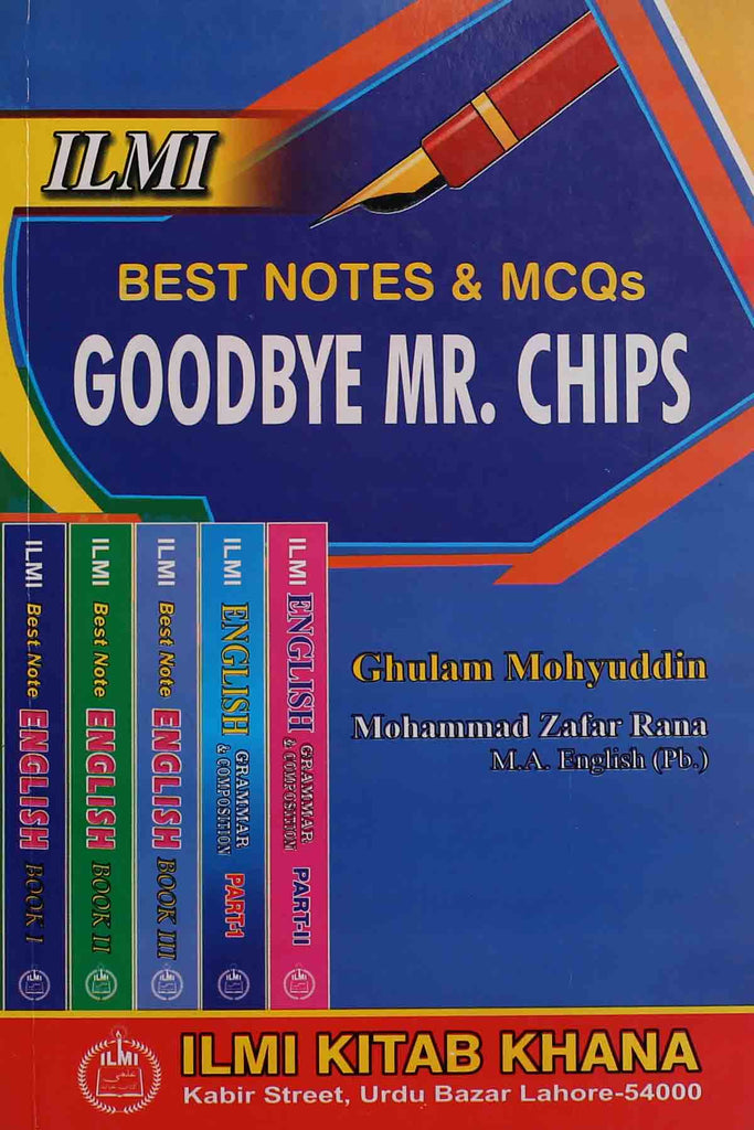 Best Notes & MCQs Good Bye Mr. Chips Key Book