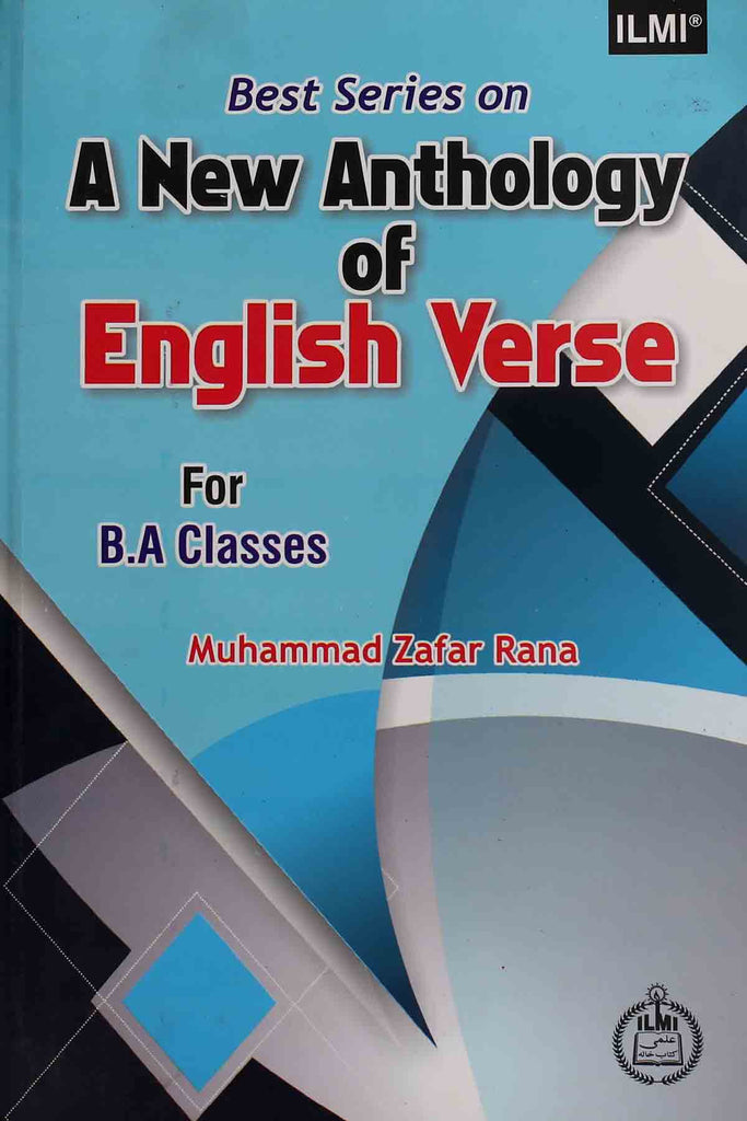 Best Series On A New Anthology Of English Verse B.a (Key Book)
