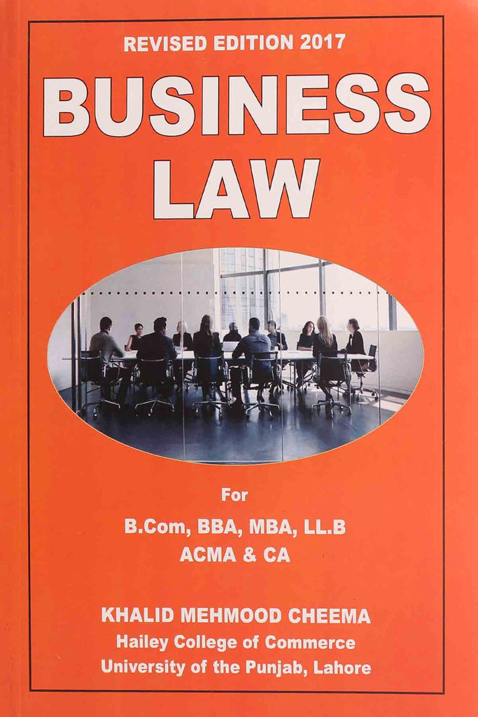 Business Law B.Com, BBA, MBA, LL.B, ACMA, CA