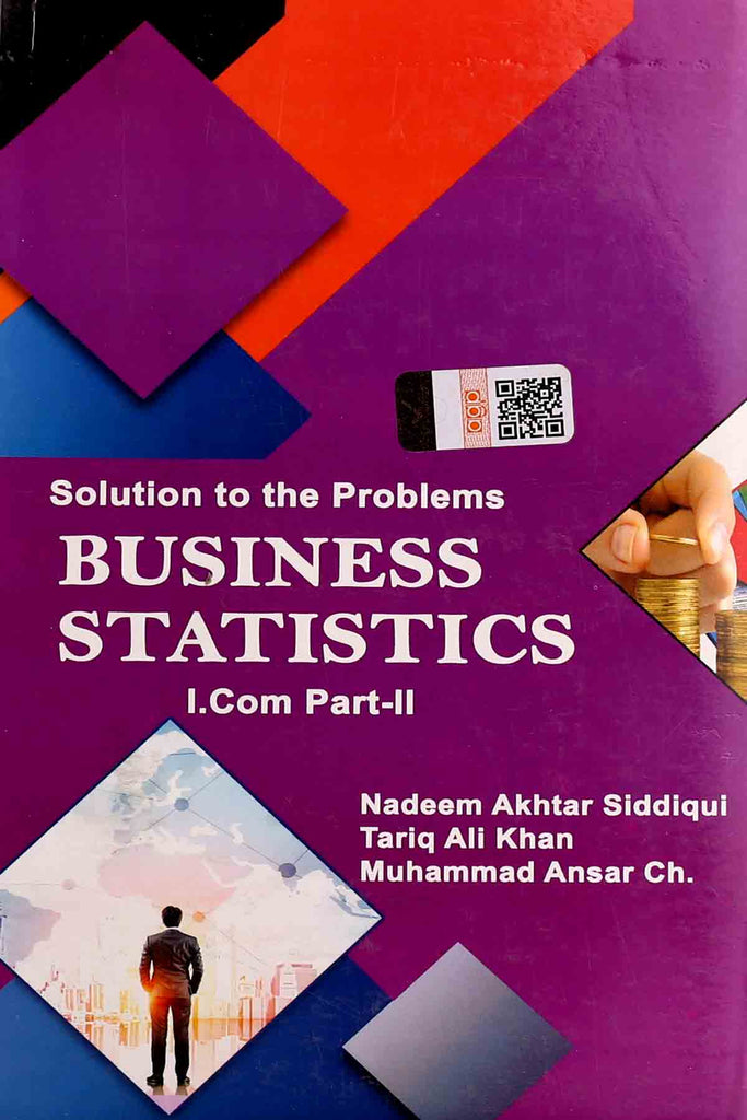 Business Statistics I.Com Part 1 Key Book