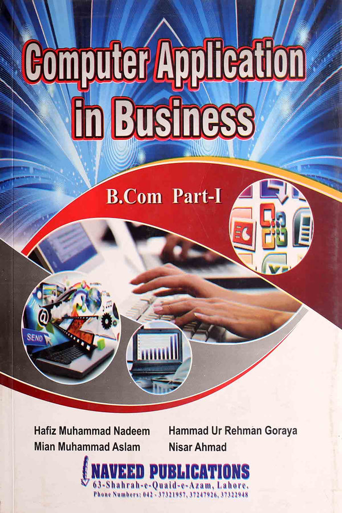 Computer Application In Business B.Com part 1