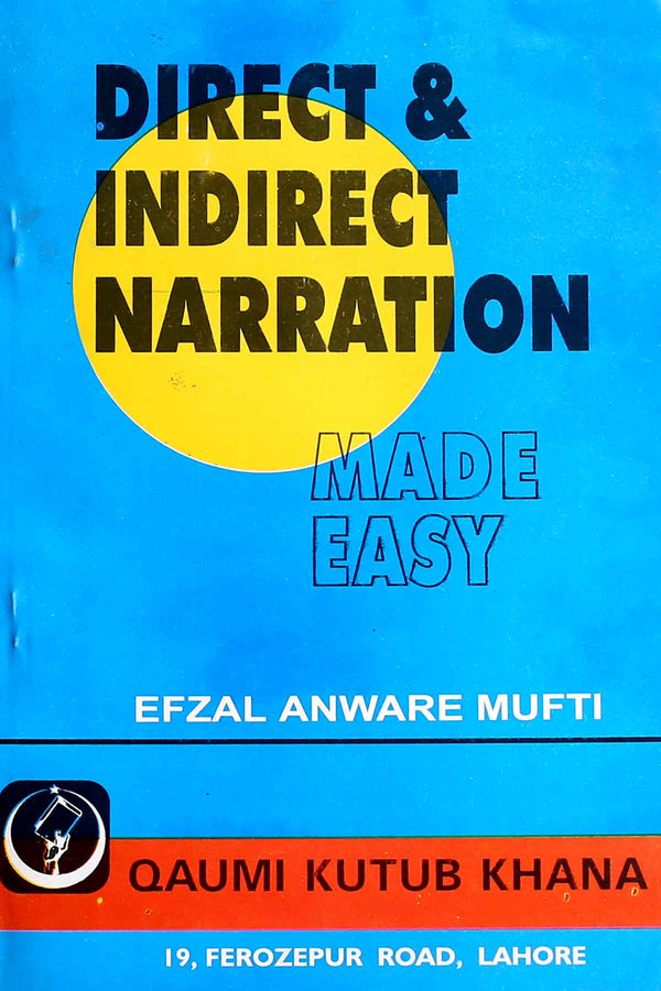 Direct & Indirect Narration Made Easy