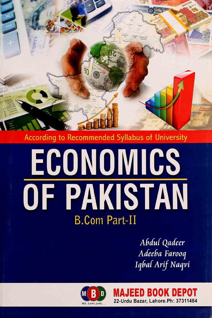 Economics Of Pakistan B.Com Part 2 Majeed Book Depot