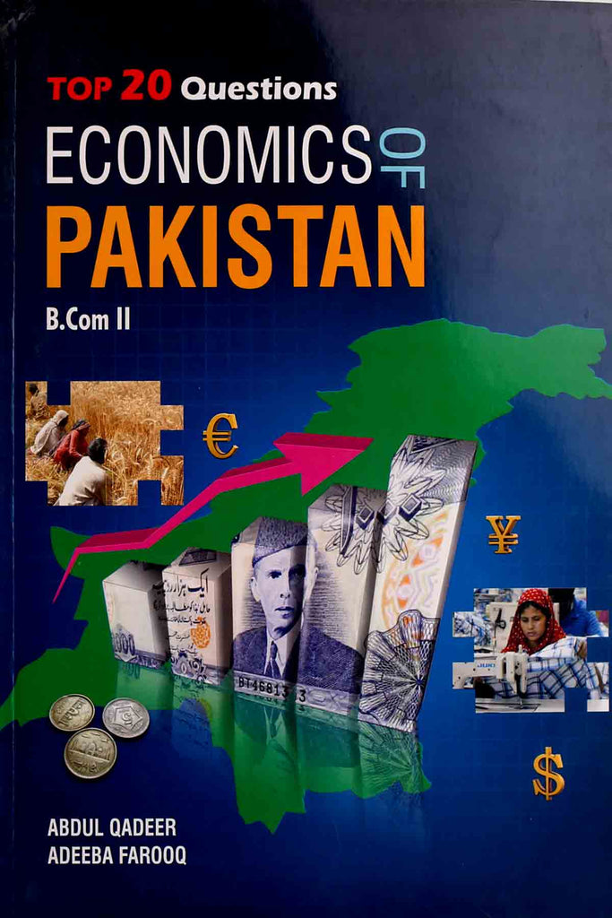 Economics Of Pakistan B.Com Part 2 Jahangir Books