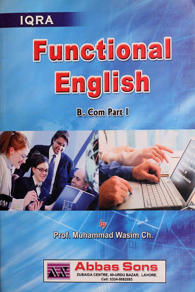 Functional English b.Com Part 1