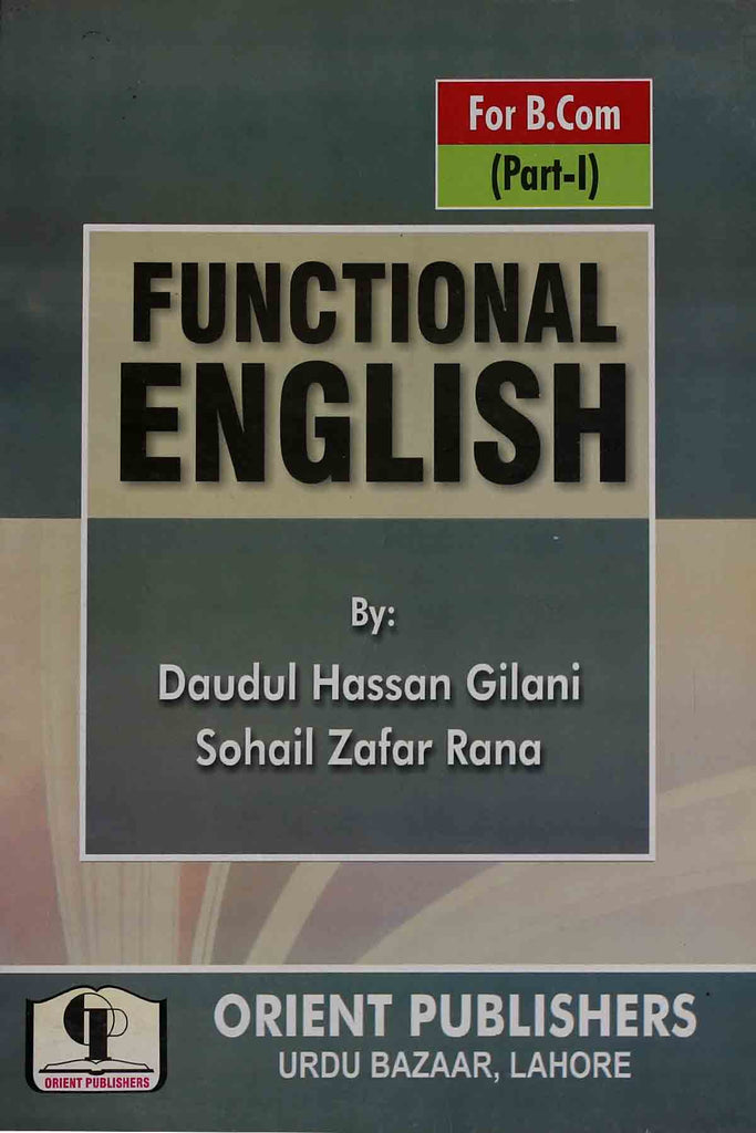 Functional English For B.com Part 1