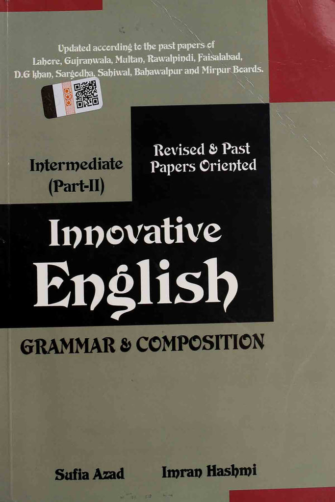 Innovative English Grammar & Composition Intermediate Part 2