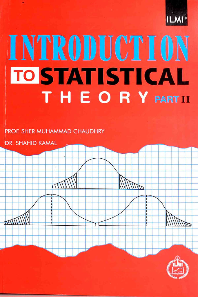 Introduction To Statistical Theory Part 2 BA