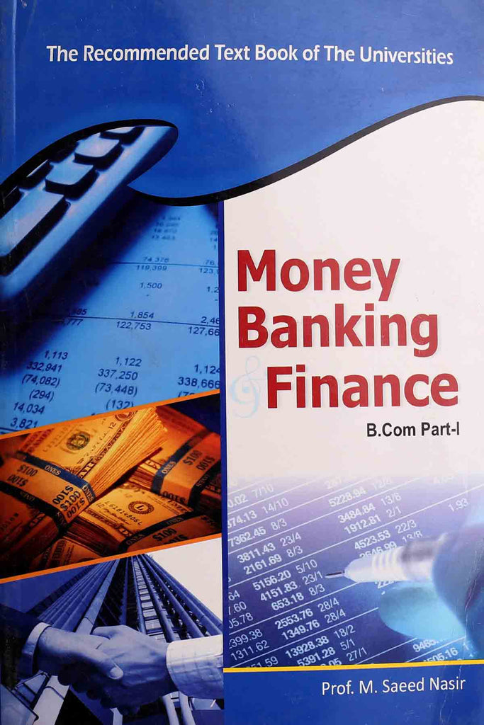 Money Banking Finance B.Com Part 1