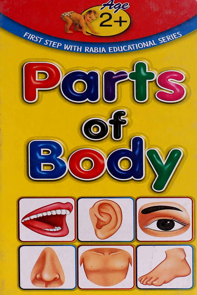 Parts Of Body (Reading Book)