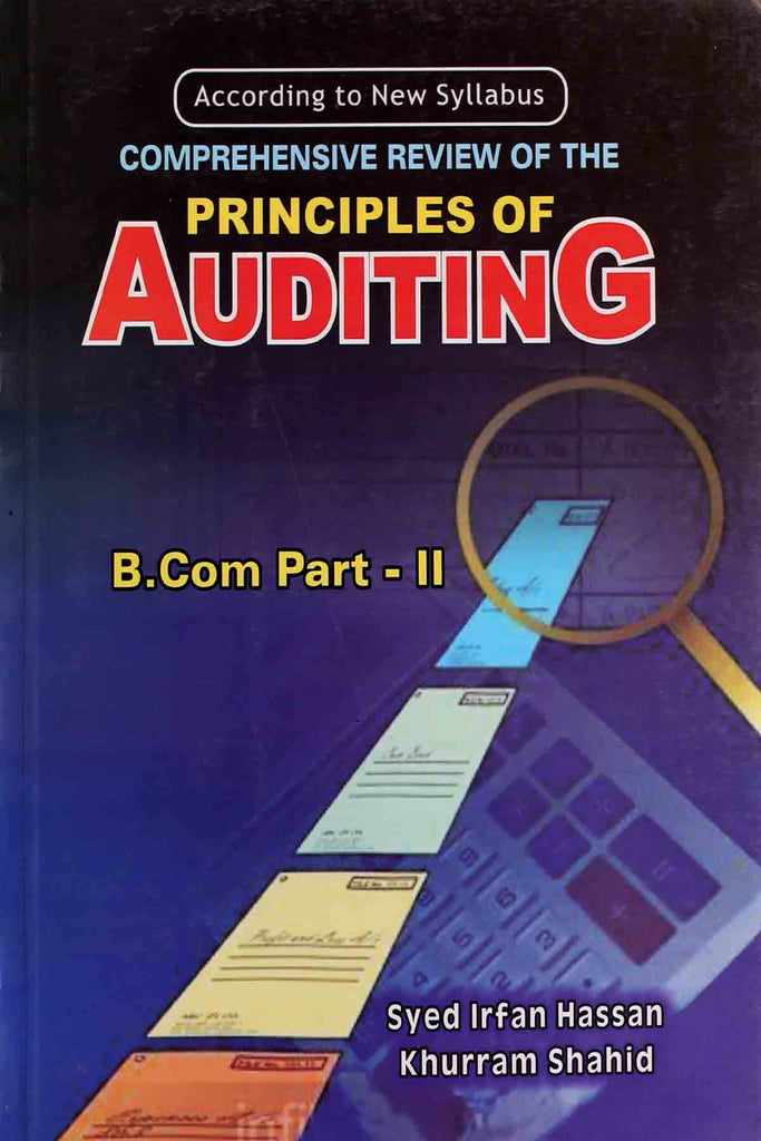 Principles Of Auditing B.Com Part 2
