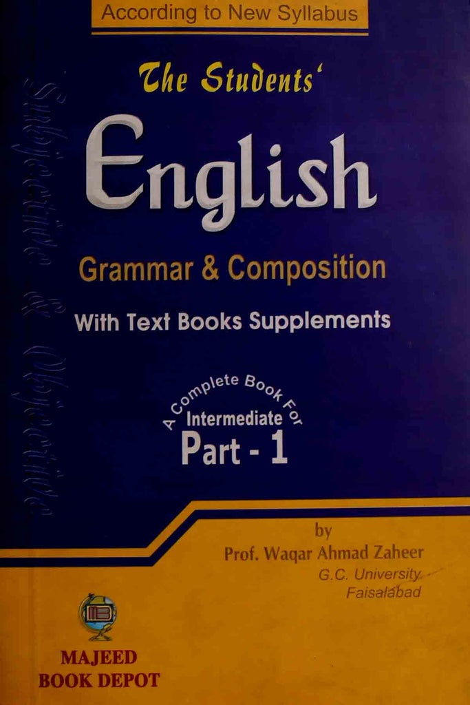 The Students' English Grammar & Composition Intermediate Part 1