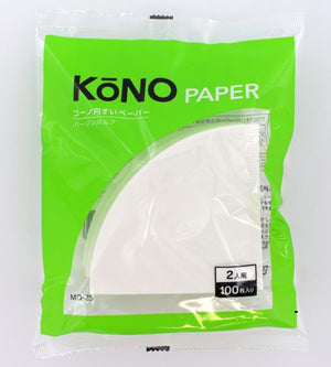 KONO MD-25 filter paper 100pcs