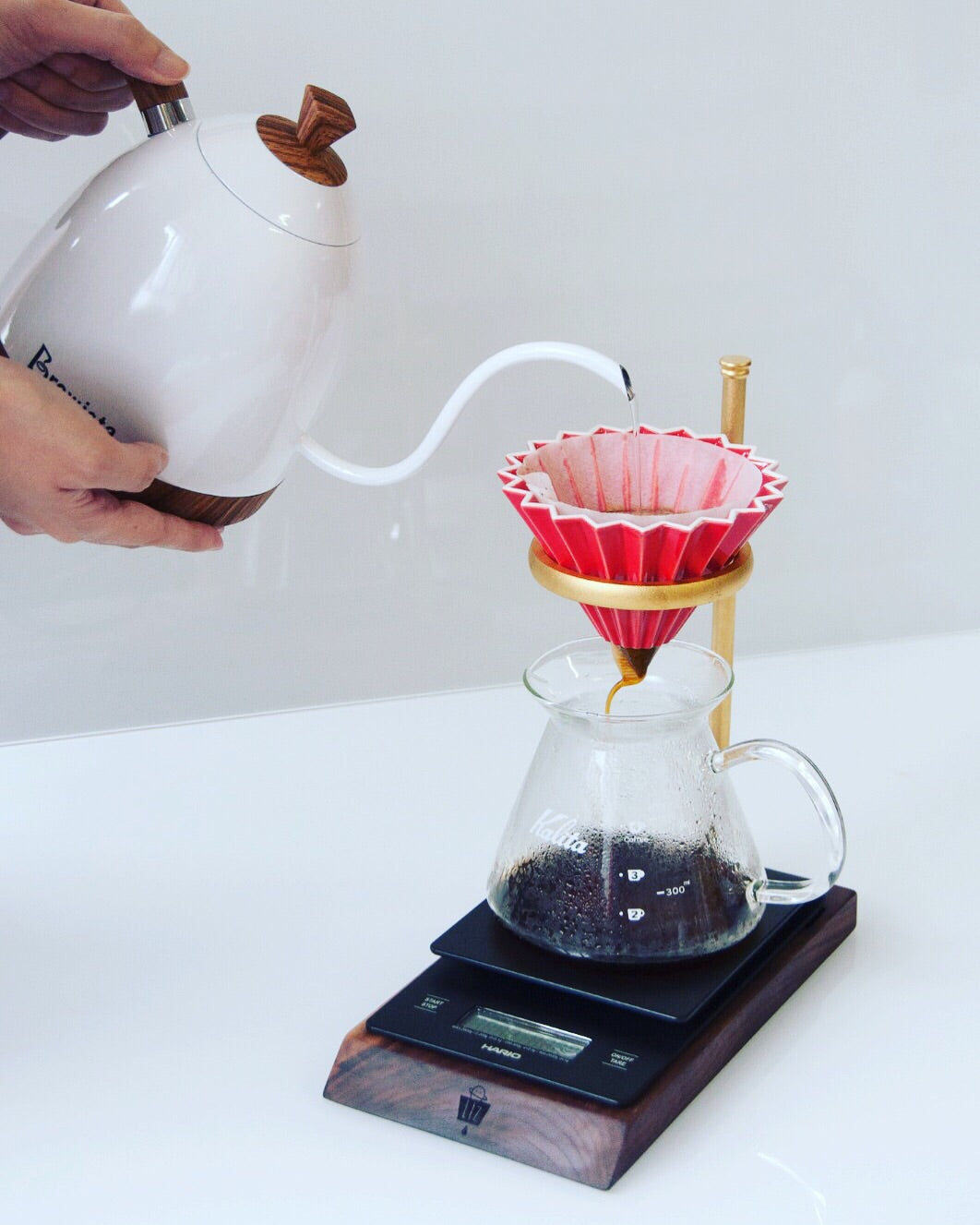 dripper stand pour over origam dripper coffee lover
