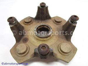 Used Arctic Cat ATV 650 V-TWIN FIS AUTO OEM part # 0502-599 rear hub with brake disc for sale