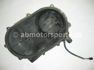 Used Arctic Cat ATV 650 V-TWIN FIS AUTO OEM part # 3201-161 and 3201-161 clutch cover with engine brake actuator for sale