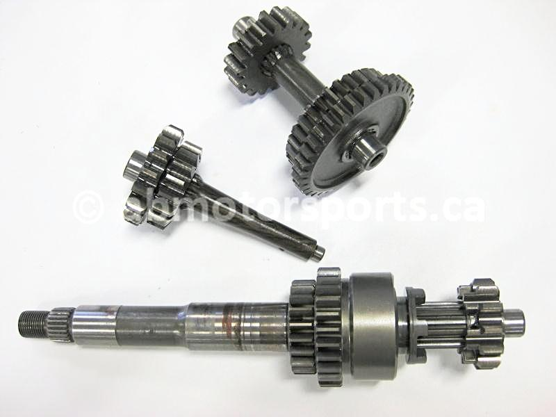 Used Arctic Cat ATV 650 V-TWIN FIS AUTO OEM part # 3201-425 transmission gear set for sale