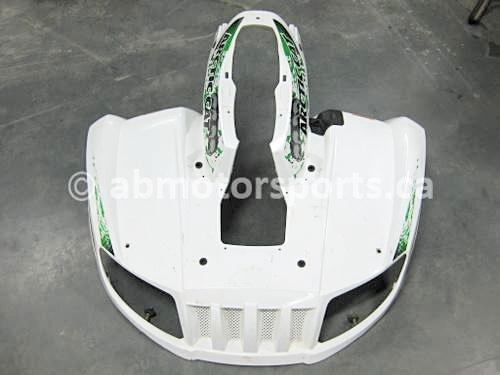 Used Arctic Cat ATV 1000 MUD PRO OEM part # 2516-607 front fender panel for sale