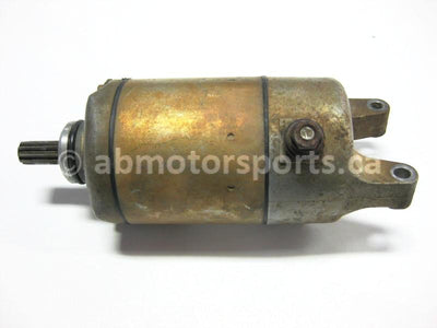 Used Arctic Cat ATV 650 V-TWIN FIS AUTO OEM part # 3201-189 motor starter for sale