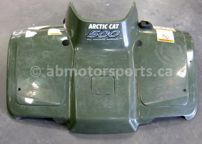 Used Arctic Cat ATV 500 AUTO FIS OEM part # 0506-584 front fender for sale