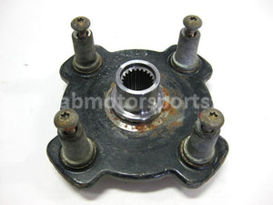 Used Arctic Cat ATV 500 AUTO FIS OEM part # 0502-360 front wheel hub for sale
