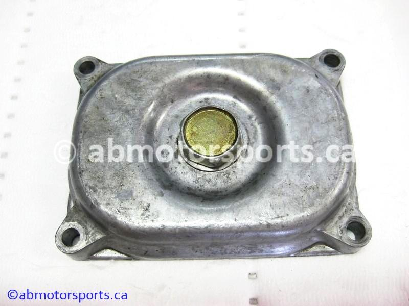 Used Arctic Cat ATV 500 AUTO FIS OEM part # 3402-157 oil strainer cap for sale