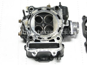 Used Arctic Cat ATV 500 4X4 AUTO OEM part # 3402-361 cylinder head for sale