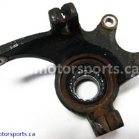 Used Arctic Cat ATV 650 H1 4X4 OEM part # 0505-447 left front knuckle for sale