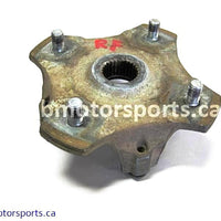 Used Arctic Cat ATV 650 H1 4X4 OEM part # 0502-599 front hub for sale