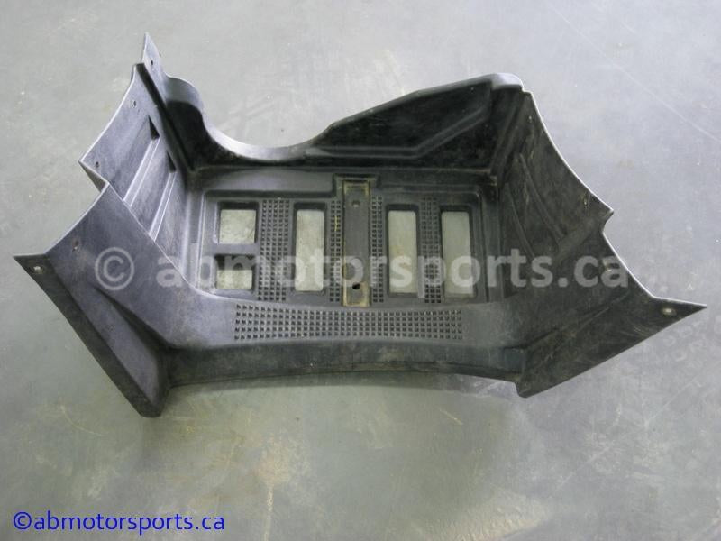 Used Arctic Cat ATV 650 H1 4X4 OEM part # 1406-357 left foot well for sale