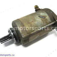 Used Arctic Cat ATV 650 H1 4X4 OEM part # 0825-001 starter for sale