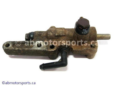 Used Arctic Cat ATV 700 MUD PRO OEM part # 1502-293 rear master cylinder for sale