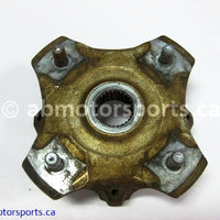 Used Arctic Cat ATV 700 MUD PRO OEM Part # 3323-100 OR 1502-462 HUB REAR FRONT for sale