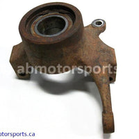 Used Arctic Cat ATV 500 AUTO FIS OEM part # 0505-447 front left knuckle for sale