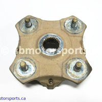 Used Arctic Cat ATV 500 AUTO FIS OEM part # 0502-601 rear left hub for sale