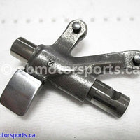 Used Arctic Cat ATV 500 AUTO FIS OEM part # 3402-139 rocker arm exhaust valve for sale
