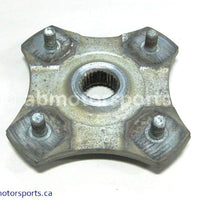 Used Arctic Cat ATV 650 H1 OEM part # 0502-601 rear left hub for sale