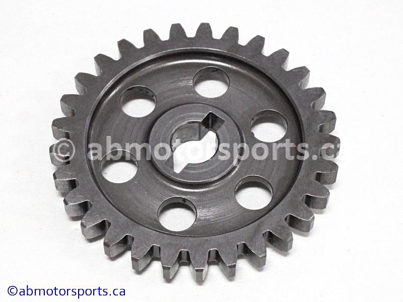 Used Arctic Cat ATV 650 H1 OEM part # 0813-004 driven water pump gear for sale